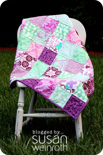 a little bit of me.: {Baby J's Quilt} : quilt colors schemes - Adamdwight.com