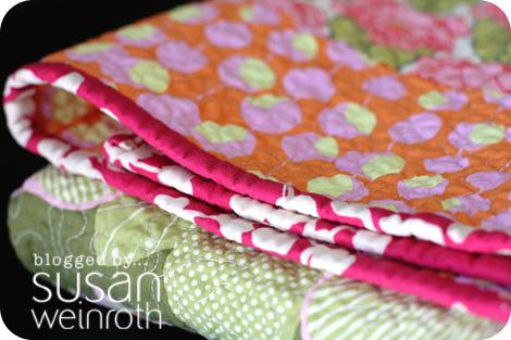 Blog amy butler baby stripes binding