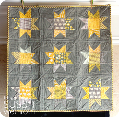 Blog - yellow and grey stars