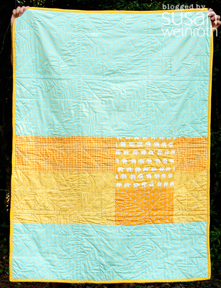 Blog - backing - 450 - wonky yellow and aqua stars