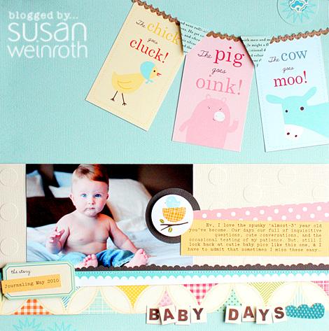 Blog baby days
