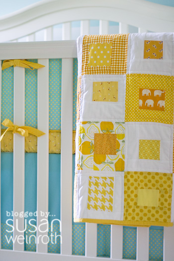3 - blog - bedding and sunshine quilt