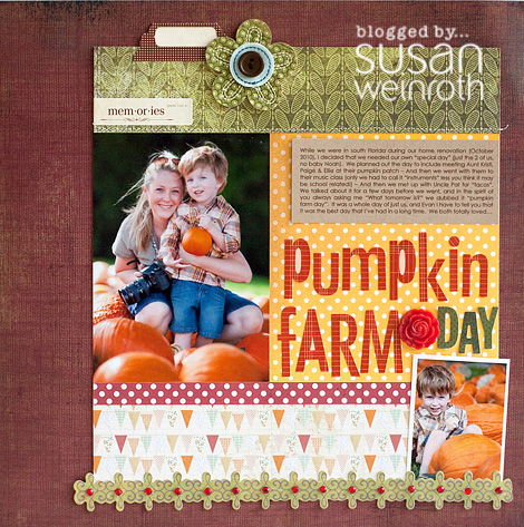 Blog - pumpkin farm day