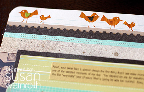 Blog - 'sunday sketch layout - DETAIL 1 - susan weinroth