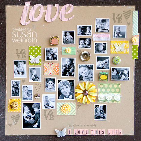 Blog love stamp set