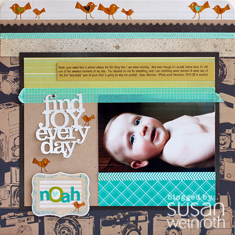 Blog - sunday sketch layout - susan weinroth