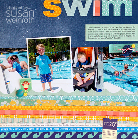 Blog - swim layout
