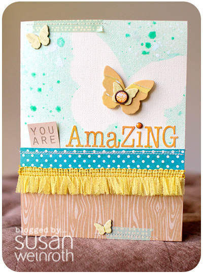 Blog - amazing card