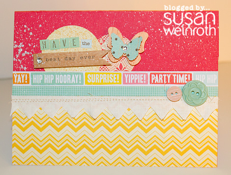 Blog - best day ever card - susan weinroth