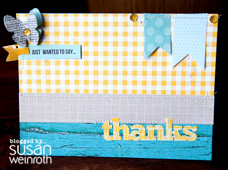 Blog - thanks card