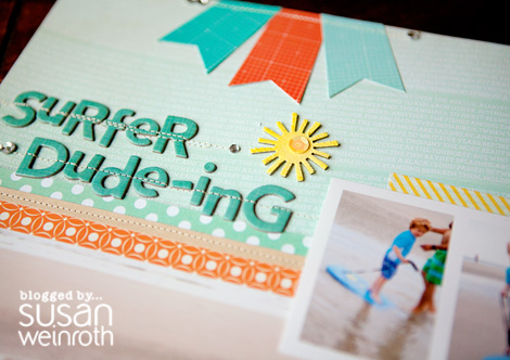 Blog - surfer duding layout - DETAIL - by susan weinroth