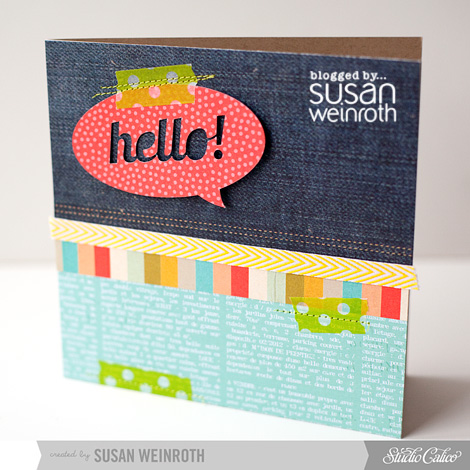 Blog - hello card - susan weinroth