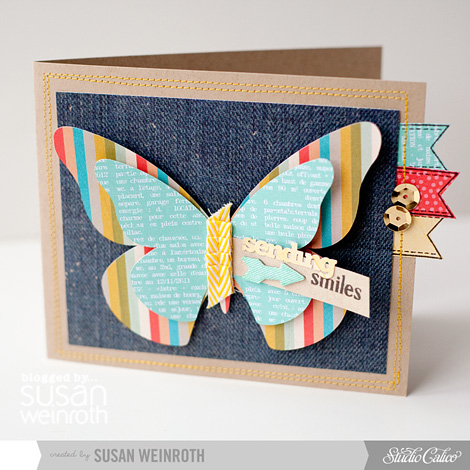 Blog - sending smiles card - susan weinroth