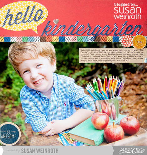 Blog - hello kindergarten - susan weinroth