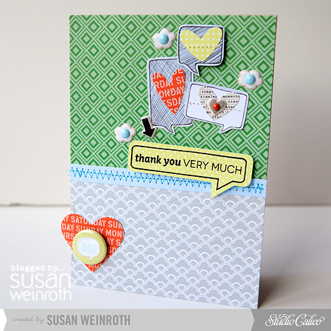 Blog - thank you very much card - susan weinroth