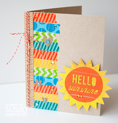Blog - Hello Sunshine Card - Susan Weinroth