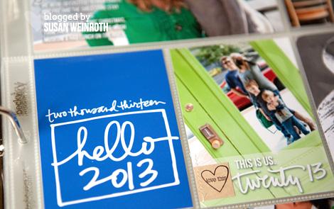 Blog - week 1 hello 2013