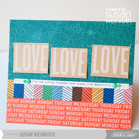 Blog - love love love card - susan weinroth