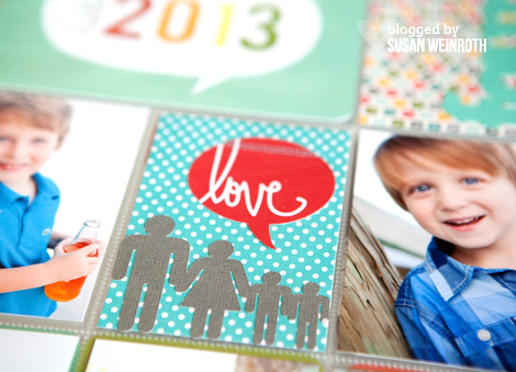 2013 Project life Cover Page 3 - Susan Weinroth