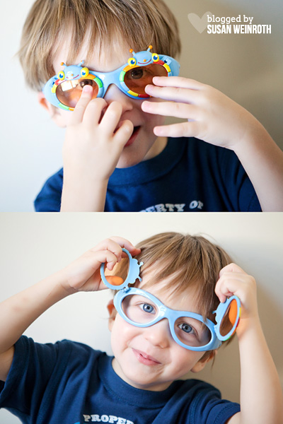 Blog - glasses noah