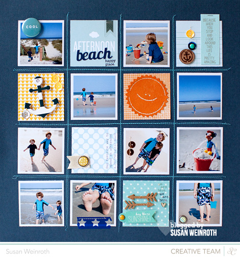 Blog - beach afternoon - susan weinroth