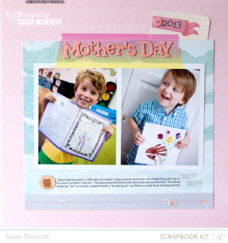 Blog - mothers day - susan weinroth