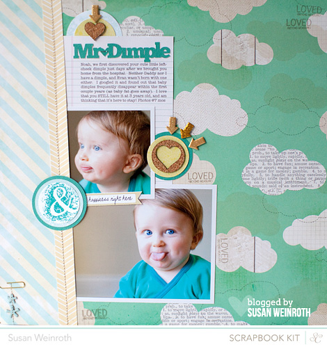 Blog - mr dimple - susan weinroth