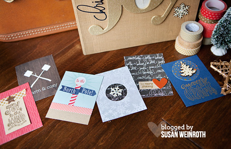 December daily 2013 - cards - susan weinroth