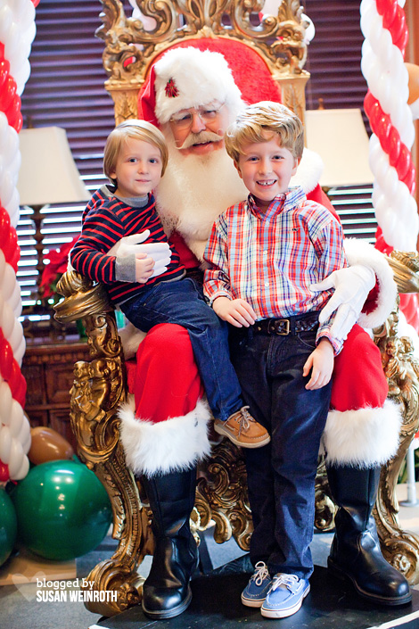Blog - santa and boys