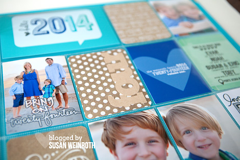 2014 project life cover page - 1 - Susan Weinroth