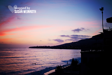 Blog - photo friday - sunset in laguna