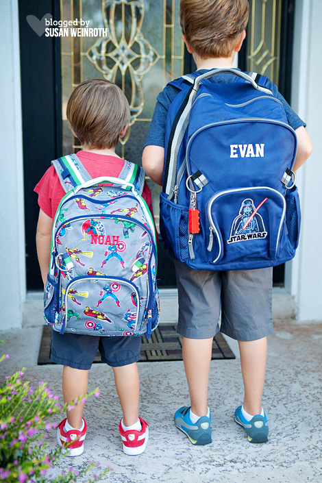 Blog - first day backpacks