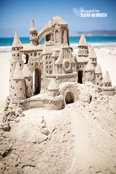 Blog - photo friday - san diego sandcastle