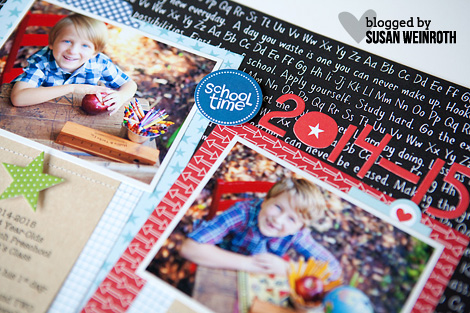 Blog - susan weinroth - school time layout - DETAIL