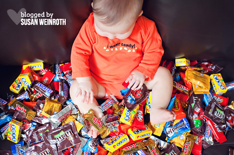 Blogged by susan weinroth - trick or treat baby 2