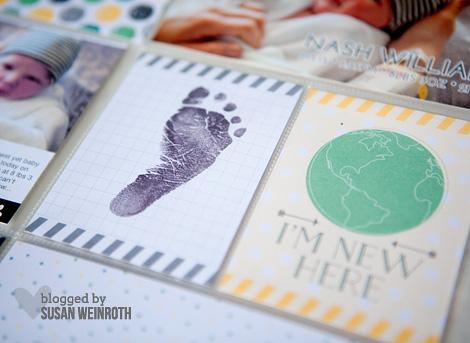 Blog - nash baby book footprint