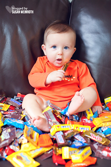 Blogged by susan weinroth - trick or treat baby 3