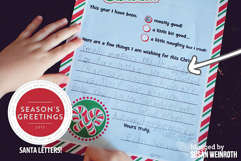 Blog - santa letters