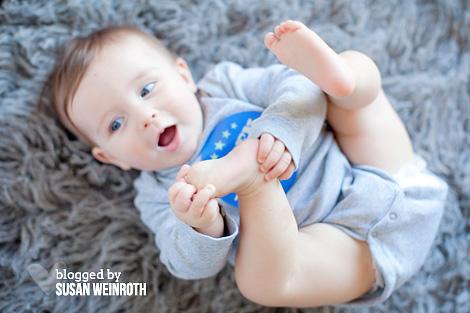 Blog - nash 7 months toes