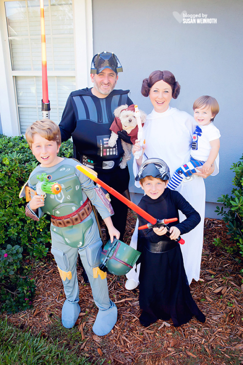 Blog - star wars family halloween 1