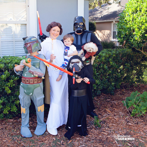 Blog - star wars family halloween 2