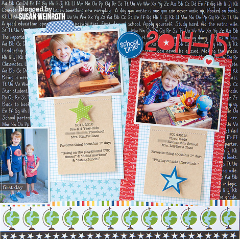 Blog - susan weinroth - school time layout