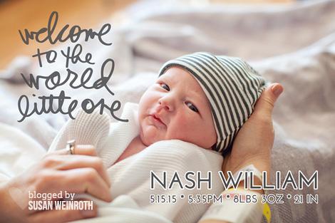 Blog - nash birth